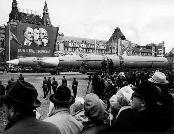 Militaire parade Moskou