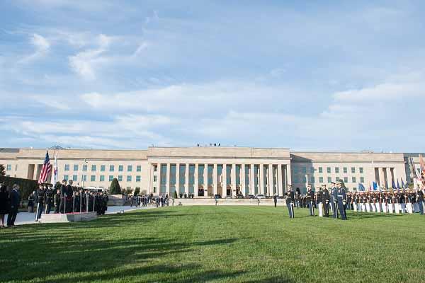 Pentagon ceremony