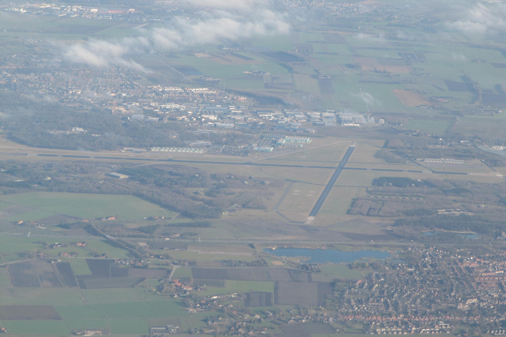 Vliegbasis Gilze-Rijen (luchtfoto)