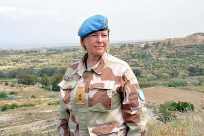 Photo of Major General Lund (image courtesy of UN)